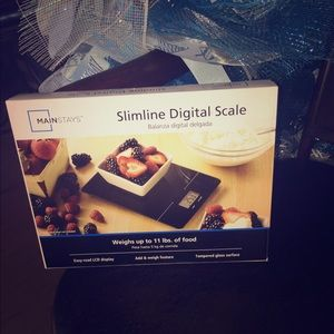 New food scale